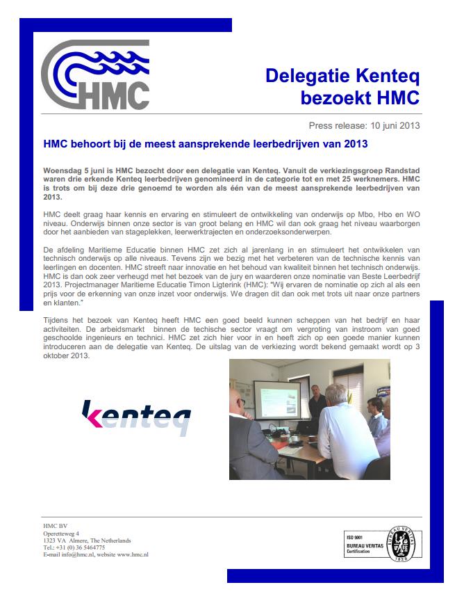 Meest aansprekende leerbedrijven (Dutch)